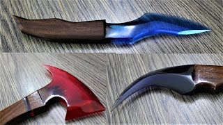 How to Make These Knives | Dagger