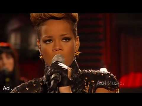 Baixar Rihanna- Rihanna Russian roulette  AOL Session 2010 HQ  Live