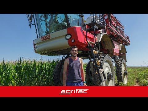 Experiencia de usuario de la Agrifac Condor ClearancePlus de Caberagri
