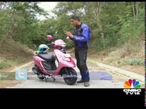 TVS Scooty Zest - First Ride Review