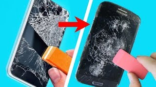 trying 42 HOLY GRAIL PHONE HACKS THAT WILL SAVE YOU A FORTUNE by 5-Minute Crafts