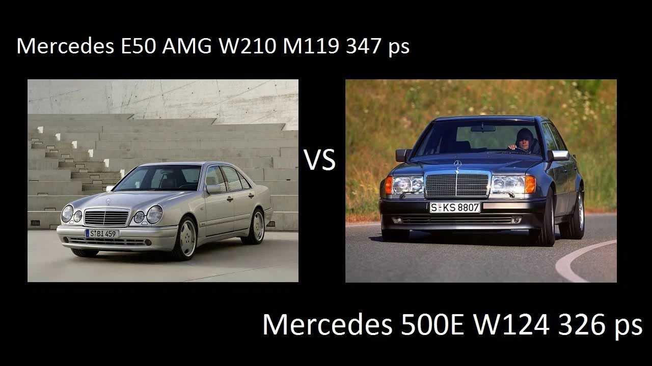 Mercedes w124 vs w210