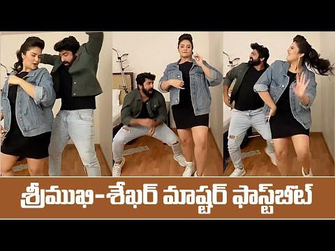 Watch: Sekhar Master and Srimukhi`s fast beat dance
