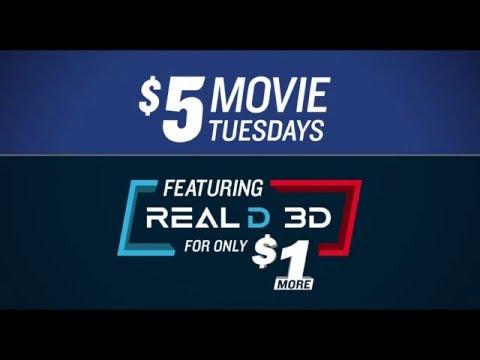 Marcus 5Dollars Tuesdays RealD YouTube