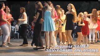 PİYANİST SAMET SEVİYORUM ANLASANA (VİDEO-KLİP)
