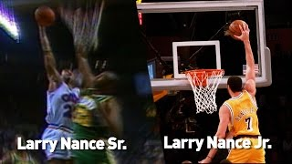 Larry Nance Sr. And Jr. Dunk Fest: Like Father Like Son