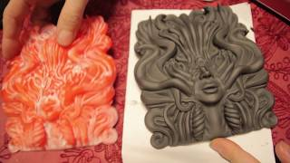 SMOOTHING LARGE PLA PRINTS WITH ACETONE