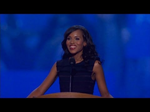 Watch Kerry Washington's DNC speech - YouTube
