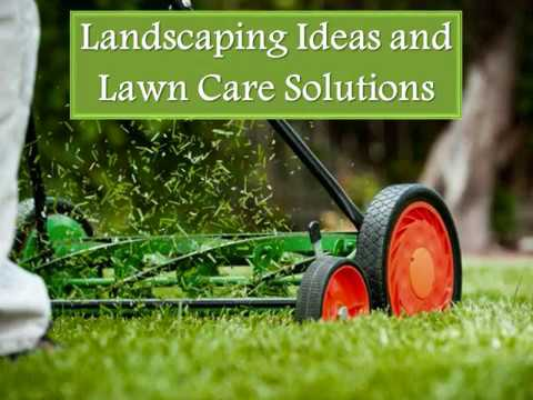 Landscaping Ideas and Lawn Care Solutions
