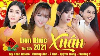Liên Khúc Nhạc Xuân 2021 Phương Anh, Phương Ý, Ý Linh, Quỳnh Trang - Lk Đoản Ca Xuân