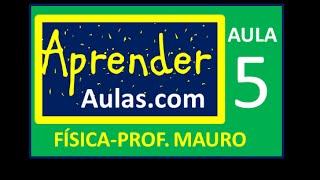 F�SICA - AULA 5 - PARTE 1 - PROJE��O DE VETORES - CINEM�TICA VETORIAL