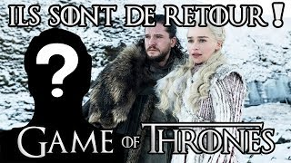Game of Thrones : retours inattendus !
