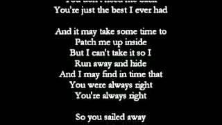 Vertical Horizon - Best I Ever Had (with lyrics)
