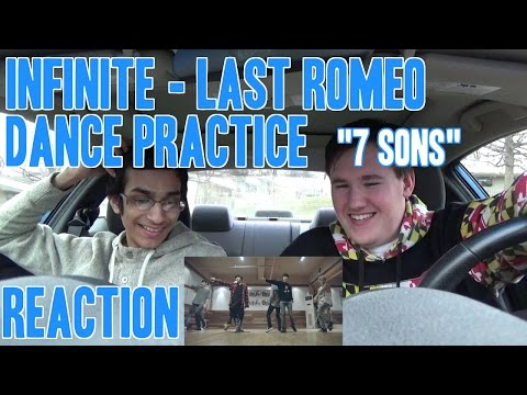 Infinite - Last Romeo Dance Practice Reaction