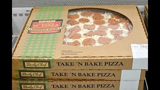 Sam's Club Take and Bake Pizza Review!!