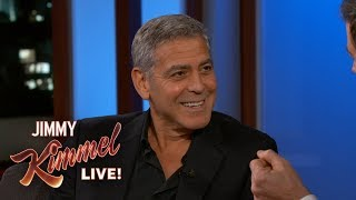 George Clooney on Directing Matt Damon
