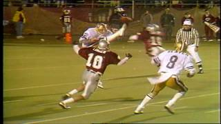 Apple Cup 1988: Landrum's punt block!