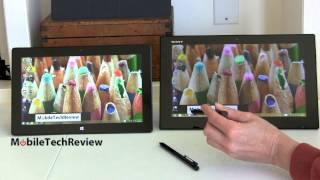 Sony VAIO Tap 11 vs. Microsoft Surface Pro 2 Comparison Smackdown
