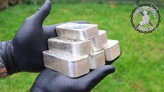 Melting 6kg+ Recovered Silver
