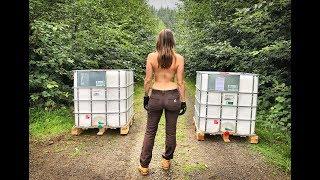 Living Off Grid in a Yurt | Rainwater Harvesting - Ep. 44
