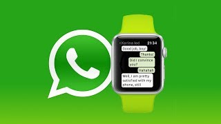 WhatsApp for Apple Watch is here.