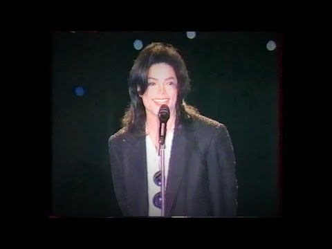 MICHAEL JACKSON EARTH SONG LIVE AT WORLD MUSIC AWARDS 1996