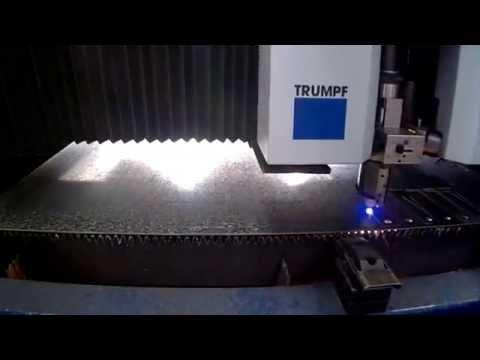 SMC Precision Sheetmetal - Laser Cutting - Trumpf 5030 Laser