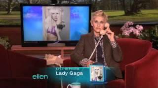 Ellen's Birthday Call to Lady Gaga