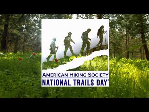 Saveria Tilden, American Hiking Society's National Trails Day.