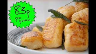 HOW TO MAKE GNOCCHI ON A BUDGET | SKINT - EPISODE 1