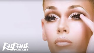 Blair St. Clair's 'Glow Up Lewk' Makeup Tutorial 🌟   RuPaul's Drag Race Season 10