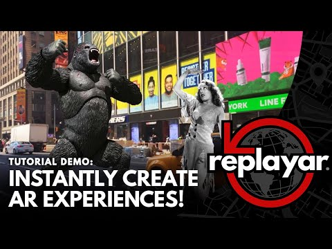 ReplayAR's app instantly turns any image into a locational augmented reality experience, putting the power of AR content creation directly in the hands of anyone with a mobile device.