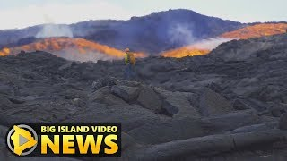 Hawaii Volcano Eruption Update - Monday Morning (July 2, 2018)