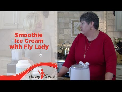 Smoothie Ice Cream with Saving Dinner's Leanne Ely and FlyLady