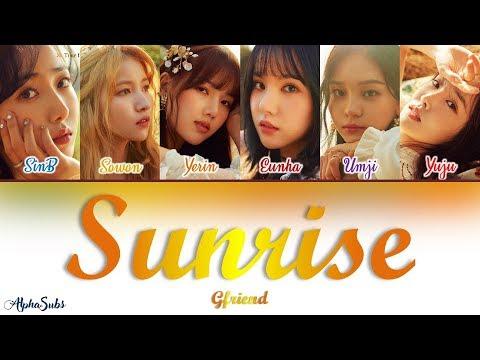 GFRIEND (여자친구) - SUNRISE (해야) Color Coded Lyrics / 가사 [Han|Rom|Eng]