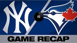 Grichuk, Zeuch power Blue Jays to win   Yankees-Blue Jays Game Highlights 9/15/19