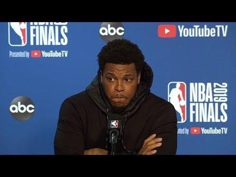 Kyle Lowry Postgame Interview - Game 3   Raptors vs Warriors   2019 NBA Finals