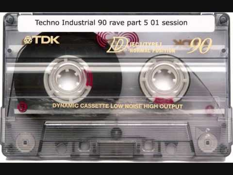 Techno Industrial 90 rave cassette session