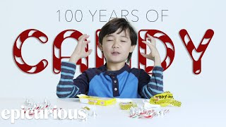 Kids Try 100 Years of Candy From 1900 to 2000