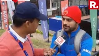 Afghanistan Star Rashid Khan Speaks Exclusively To Republic TV