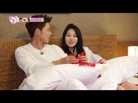 [ENG SUB] 우리 결혼했어요 - 아찔한(?) 종현♡유라의 화보촬영, 부끄러워 표정관리 안되는 종현 20140920