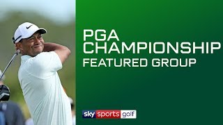 LIVE PGA CHAMPIONSHIP GOLF | Featured Groups | Day 1 - YouTube