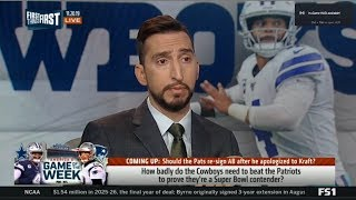 Nick on How badly do Cowboys need to beat Patriots to prove they're a Super Bowl contender?