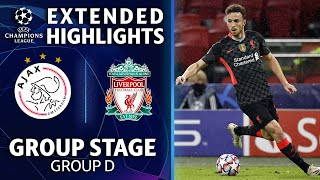 Ajax vs. Liverpool: Extended Highlights | UCL on CBS Sports