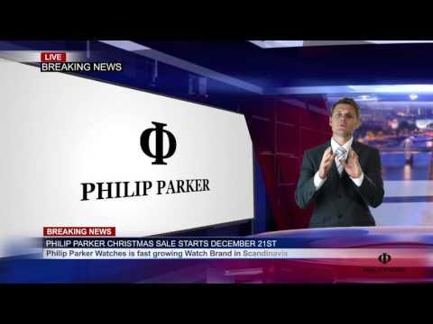 Philip Parker Watches Christmas Sale News