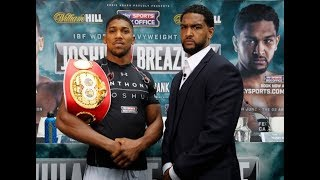 """DOMINIC BREAZELLE  """"ANTHONY JOSHUA IS 10 TIMES BETTER THAN DEONTAY WILDER"""""""