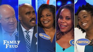 2016's Top 5 Steve Harvey Funny Moments   Family Feud