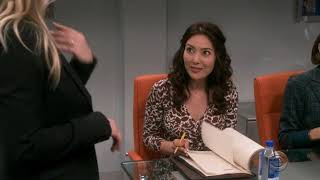 The Big Bang Theory 12x13 penny taking charge so cool!