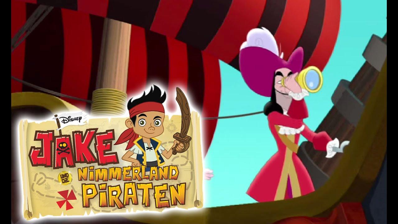 geht auf schatzsuche mit jake und die nimmerland piraten