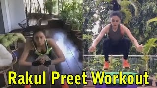 Actress Rakul Preet teaches tricks to lose weight while st..